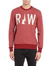 G-Star RAW - Netrol Pullover Sweatshirt - Lyst
