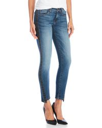 Flying Monkey - Twisted Side Tux Skinny Jeans - Lyst