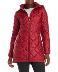Weatherproof - Packable Hooded Jacket - Lyst
