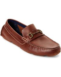 Cole Haan - British Tan Kelson Bit Leather Loafers - Lyst