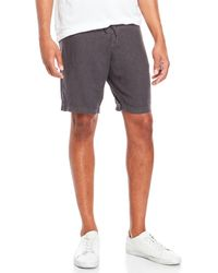 Benson - Linen Drawstring Shorts - Lyst