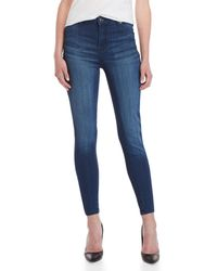Celebrity Pink - Mid-rise Ankle Skinny Jeans - Lyst