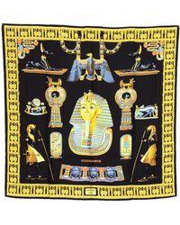 Hermès - Tutankhamun Printed Silk Scarf - Vintage - Lyst