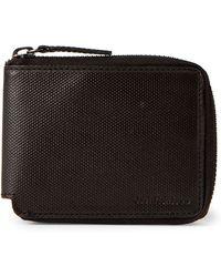 Calvin Klein - Zip Around Coated Canvas Wallet - Lyst