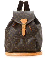 Louis Vuitton - Monogram Montsouris Gm Backpack - Vintage - Lyst