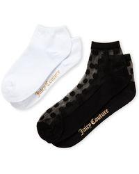 Lyst - Calvin Klein  sheer Stripe  Ankle Socks in Black for Men a79e70d68