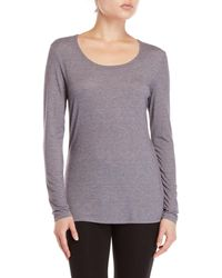 32 Degrees - Long Sleeve Scoop Neck Tee - Lyst