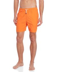 Solid & Striped - Orange The Classic Swim Trunks - Lyst