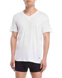 Lucky Brand - 3-pack Slim Fit V-neck Tees - Lyst