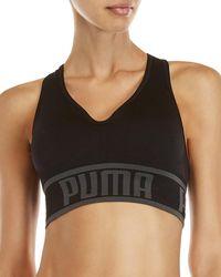 PUMA - Seamless Apex Light Support Sports Bra - Lyst