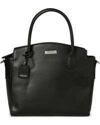 Kenneth Cole Reaction - Black Barbara Quilted Tote - Lyst
