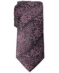 Duchamp - Paisley Silk Tie - Lyst