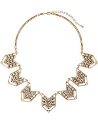 Catherine Stein - Gold-Tone Accented Necklace - Lyst