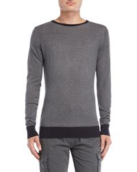 Dstrezzed - Retro Printed Pullover - Lyst