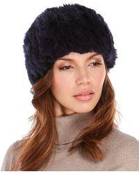 Surell - Real Rabbit Fur Headband - Lyst