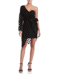 Isla - Caught Out Draped Dress - Lyst