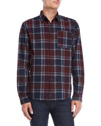 Bellfield - Lockhart Overdye Check Shirt - Lyst
