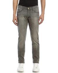 Avelon Gray Pop Slim Fit Jeans