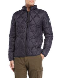 Dstrezzed - Diamond Quilted Bomber Jacket - Lyst