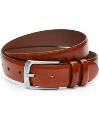 Bosca - Leather Double Keeper Belt - Lyst