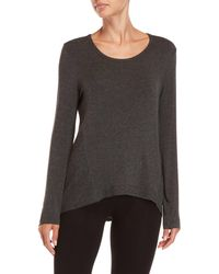 Marc New York - Performance Long-sleeve High/low Top - Lyst