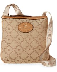 Juicy Couture - Tobacco Yours Truly Crossbody - Lyst