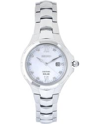 Seiko - Sut307 Silver-tone Watch - Lyst