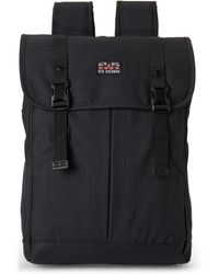b25c105ab027 Lyst - Ben Sherman Charcoal Canvas Military Backpack in Gray for Men