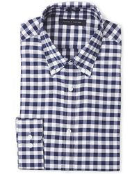 Tommy Hilfiger - Navy Gingham Shirt - Lyst