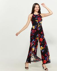 Band Of Gypsies - Bristol Floral Jumpsuit - Lyst