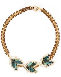 Lulu Frost - Gold-tone Ortigia Triple Necklace - Lyst