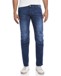G-Star RAW - Tapered Knee Patch Jeans - Lyst