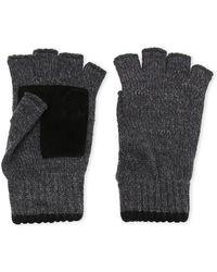 Levi's - Marble Knit Fingerless Gloves - Lyst