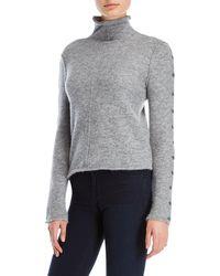 Shae | Turtleneck Reverse Seam Sweater | Lyst
