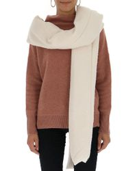 Rick Owens - Long Knitted Scarf - Lyst