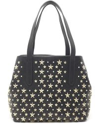 Jimmy Choo - Star And Pearl Studded Small Sofia Tote Bag - Lyst