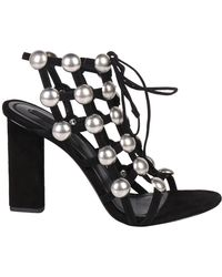 Alexander Wang - Rubie Lace Up Sandals - Lyst