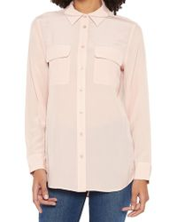 Equipment - Classic Silk Shirt - Lyst