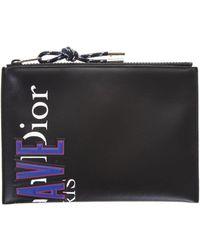 Dior Homme - Logo Print Clutch Bag - Lyst
