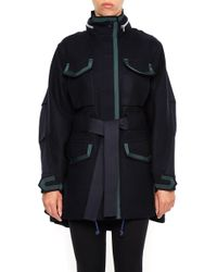 Sacai - Belted Parka - Lyst