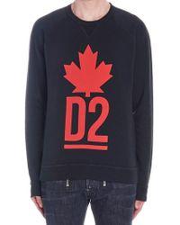 DSquared² - D2 Logo Sweatshirt - Lyst