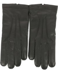 Ferragamo - Button Gloves - Lyst