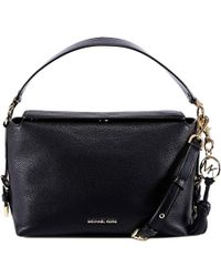ddbeeb9a3e56 MICHAEL Michael Kors Brooke Large Textured-Leather Shoulder Bag in ...