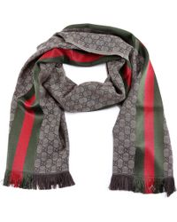 db91bb1ef Men's Gucci Scarves and handkerchiefs - Lyst