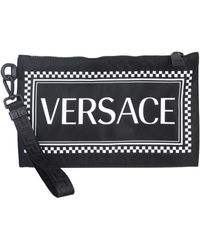 Versace - Logo Printed Pouch - Lyst