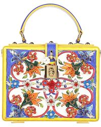 Dolce & Gabbana - Majolica Box Bag - Lyst