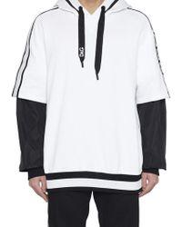 Dolce & Gabbana - Logo Side Band Hoodie - Lyst