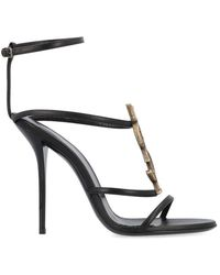 Saint Laurent - Cassandra Sandals - Lyst