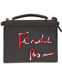 Fendi - Peekaboo Mini Shoulder Bag - Lyst
