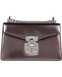 Miu Miu - Metallic Chain Strap Shoulder Bag - Lyst